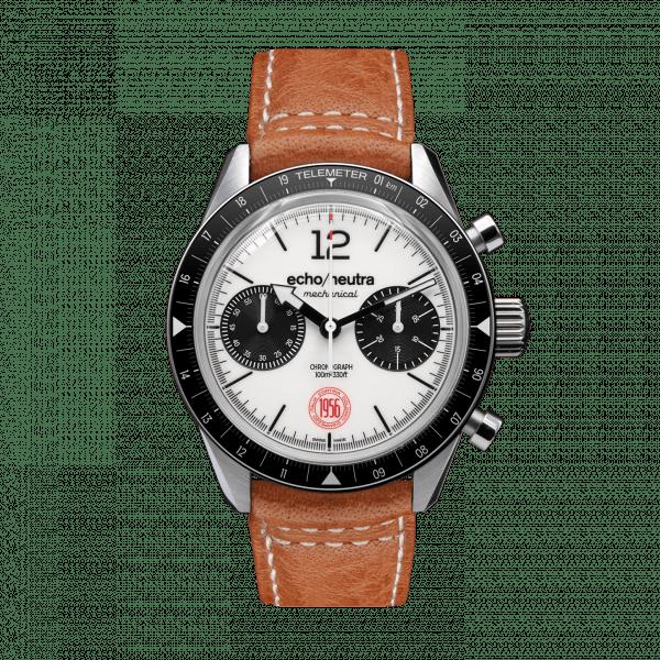 Cortina 1956 – Cronografo manuale bianco