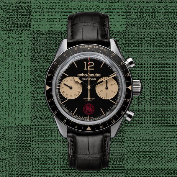 Cortina 1956 – Cronografo manuale nero