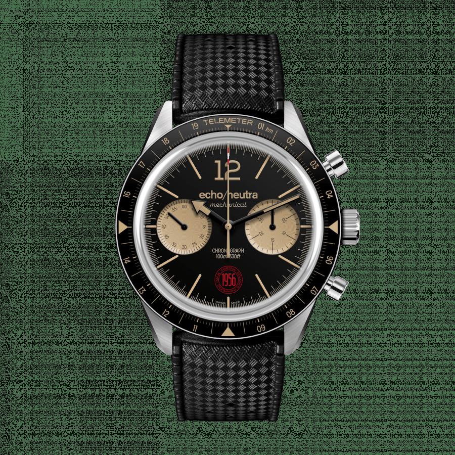 Cortina 1956 | Cronografo manuale nero