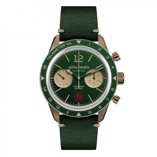 green-bronze-chronograph-vintage-strap